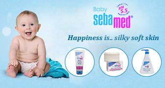 Sebamed baby bath