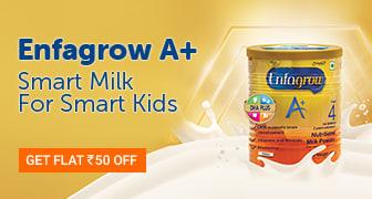 Enfagrow Flat Rs 50 OFF