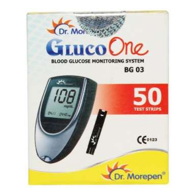 Dr Morepen Gluco One BG 03 Strip