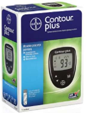 BAYER CONTOUR PLUS GLUCOMETER