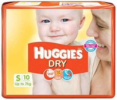 HUGGIES DRY  DIAPER (SMALL)