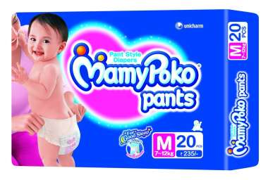 MAMY POKO PANTS DIAPER (MEDIUM)