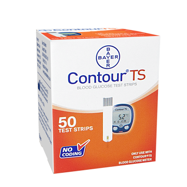 BAYER CONTOUR TS BLOOD GLUCOSE TEST STRIPS