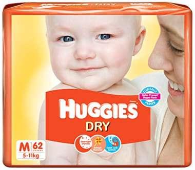 HUGGIES DRY DIAPER M