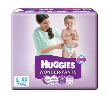 HUGGIES WONDER PANTS LARGE