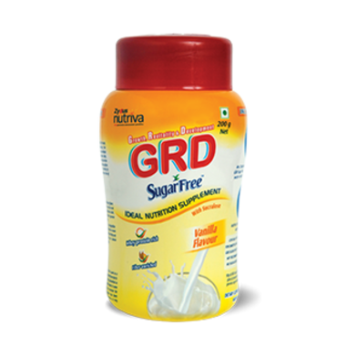 GRD SUGARFREE VANILA POWDER