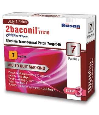2Baconil 7mg Nicotine Patch