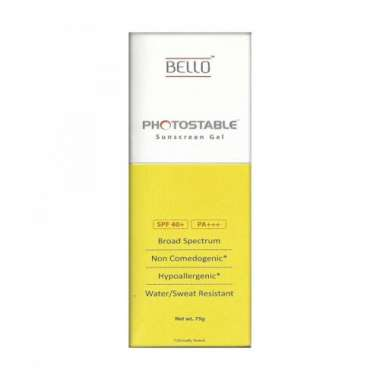 PHOTOSTABLE SUNSCREEN   GEL
