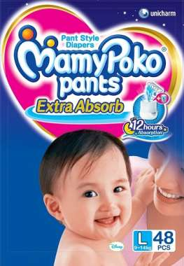 MAMY POKO PANTS DIAPER (LARGE)