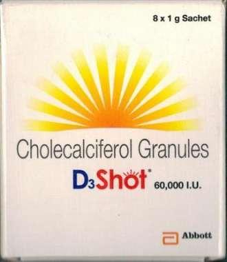 D3 SHOT 60K SACHET