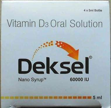 DEKSEL 60K ORAL SOLUTION