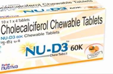 NU - D3 60K TABLET
