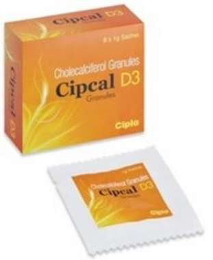 CIPCAL D3 GRANULES 1 GM