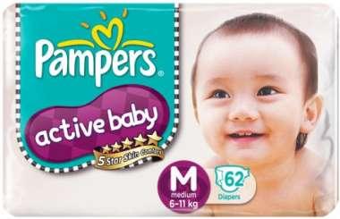 PAMPERS BABY DRY DIAPER (MEDIUM)