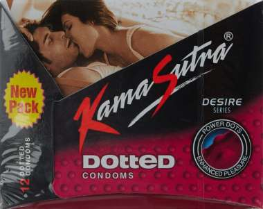 KAMASUTRA DOTTED CONDOM