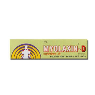 MYOLAXIN D OINTMENT