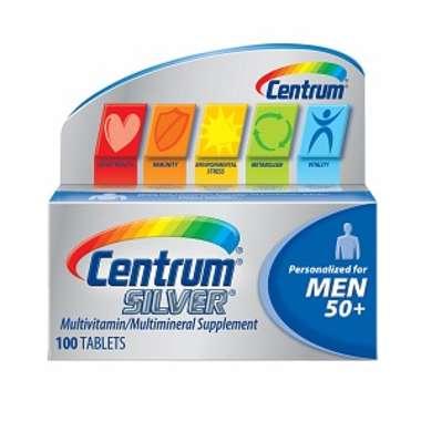 CENTRUM SILVER MAN 50+ TABLET