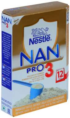 NESTLE NAN PRO 3 FOLLOW UP FORMULA