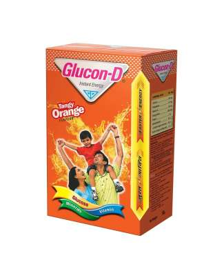 GLUCON D ORANGE POWDER
