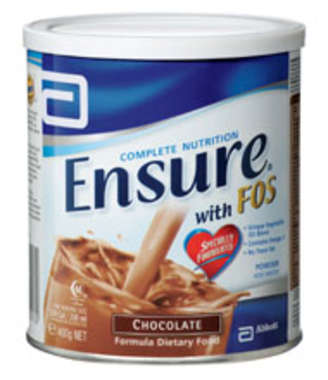 ENSURE FOS POWDER CHOCOLATE