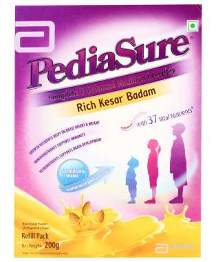 PEDIASURE POWDER KESAR BADAM