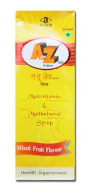 A TO Z NS SYRUP