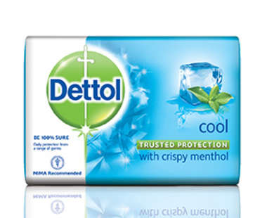 DETTOL COOL  75GM SOAP