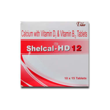 SHELCAL-HD 12 TABLET