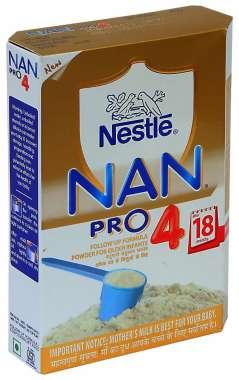 NESTLE NAN PRO 4 FOLLOW UP FORMULA