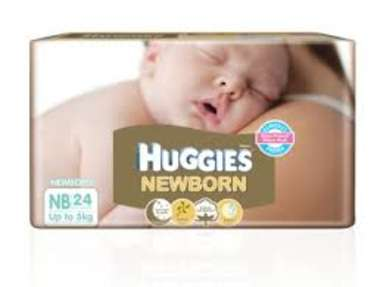 HUGGIES NEW BORN BABY DIAPER