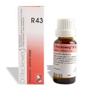RECKEWEG R43 - ASTHMA DROP