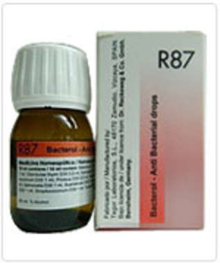 RECKEWEG R87- ANTI BACTERIAL DROP