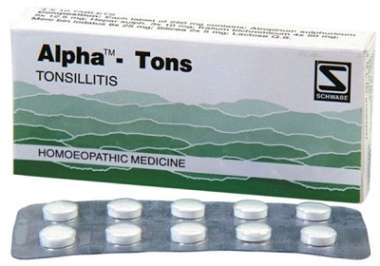 DR WILLMAR SCHWABE ALPHA - TONS TABLET