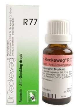 DR. RECKEWEG R77 ANTI-SMOKING DROP