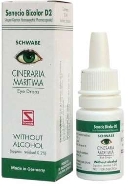 CINERARIA MARITIMA WITHOUT ALCOHOL EYE DROP