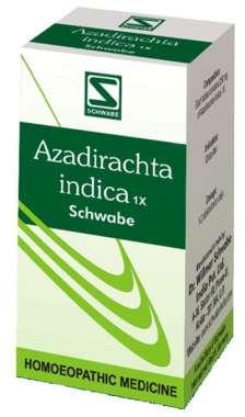 DR WILLMAR SCHWABE AZADIRACHTA INDICA TABLET 1X