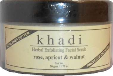 KHADI ROSE, APRICOT & WALNUT FACIAL SCRUB