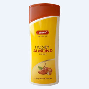 SUNNY HERBALS HONEY AND ALMOND BODY LOTION