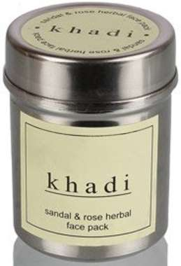 KHADI SANDAL ROSE FACE PACK