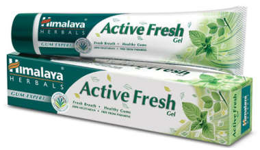 HIMALAYA  ACTIVE FRESH GEL TOOTHPASTE