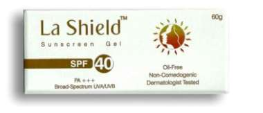 LA Shield Sunscreen Spf 40 Gel