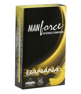 MANFORCE INTENSE CONDOM BANANA