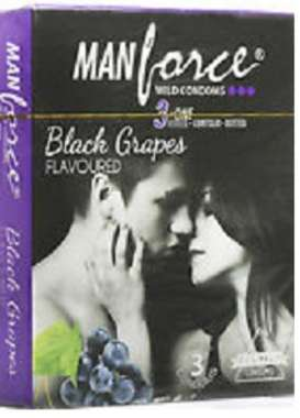 MANFORCE WILD BLACK GRAPES CONDOM