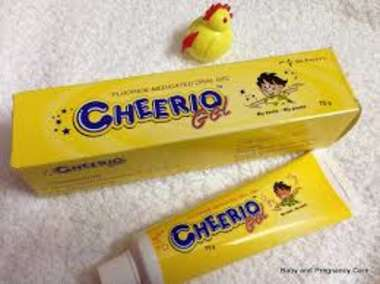 CHEERIO TOOTHPASTE