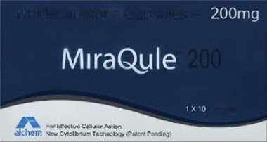 MIRAQULE 200 MG SOFT GELATIN CAPSULE