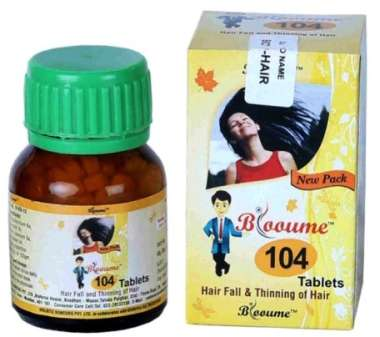 BLOOUME 104 BIO HAIR TABLET