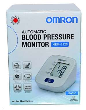 OMRON HEM-7120 BLOOD PRESSURE MONITOR