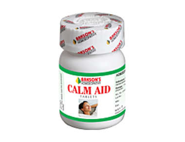 BAKSONS CALM AID TABLET