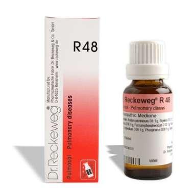 DR. RECKEWEG R48 PULMONARY DISEASES DROP