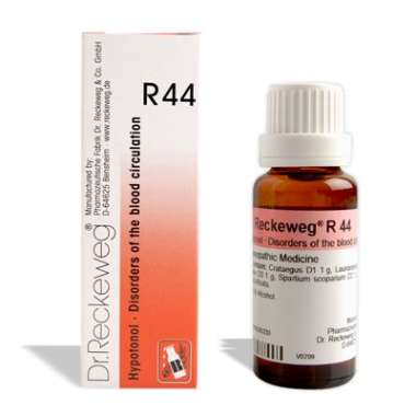 RECKEWEG R44 - DISORDERS OF THE BLOOD CIRCULATION DROP